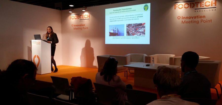 Conferencia sostenibilidad Fundación Triptolemos FoodTechBCN